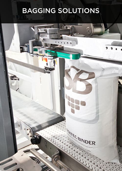 Bagging solution for robovic industrial automation & palletizing systems