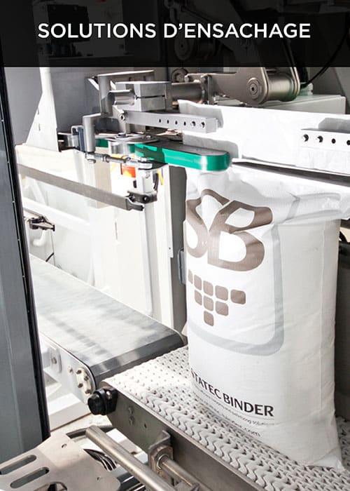 Robovic automatisation industrielle pour les ensacheuses et la palettisation robotisée