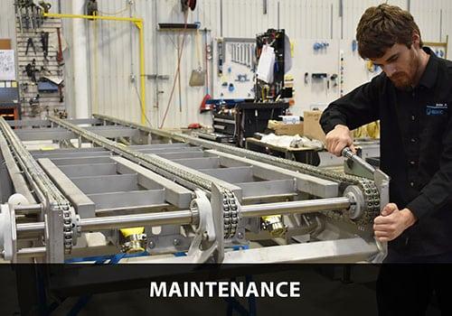 maintenance for Industrial Robotics