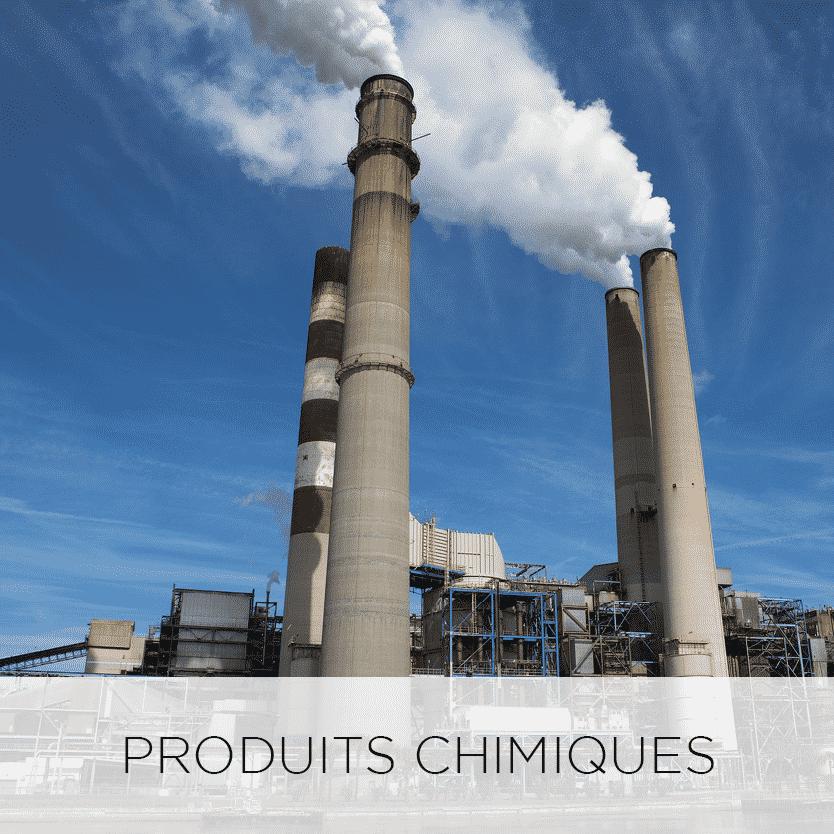 secteurs d'activités chimique