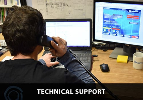 Technical support for Industrial Robotics