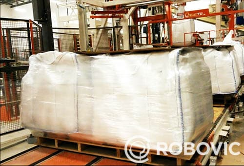 high speed production big bag filling system