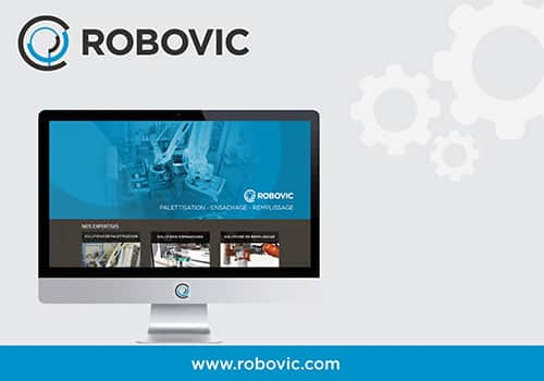 ROBOVIC unveil's its new site !