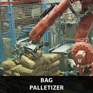 Picture of a palletizing solution for bag