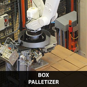 Picture of a Palletizing solution for box