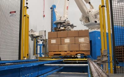Pourquoi choisir une cellule de palettisation robotique plutôt qu'une cellule de palettisation conventionnelle ?