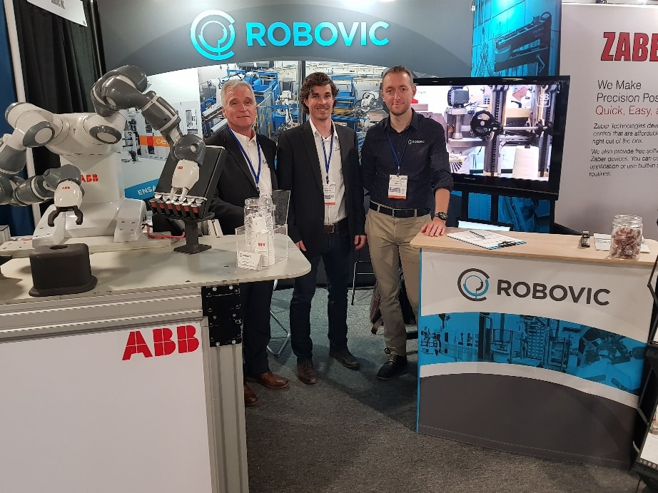robovic at packex Toronto 2019 - 2