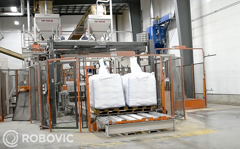 high speed production big bag filling system