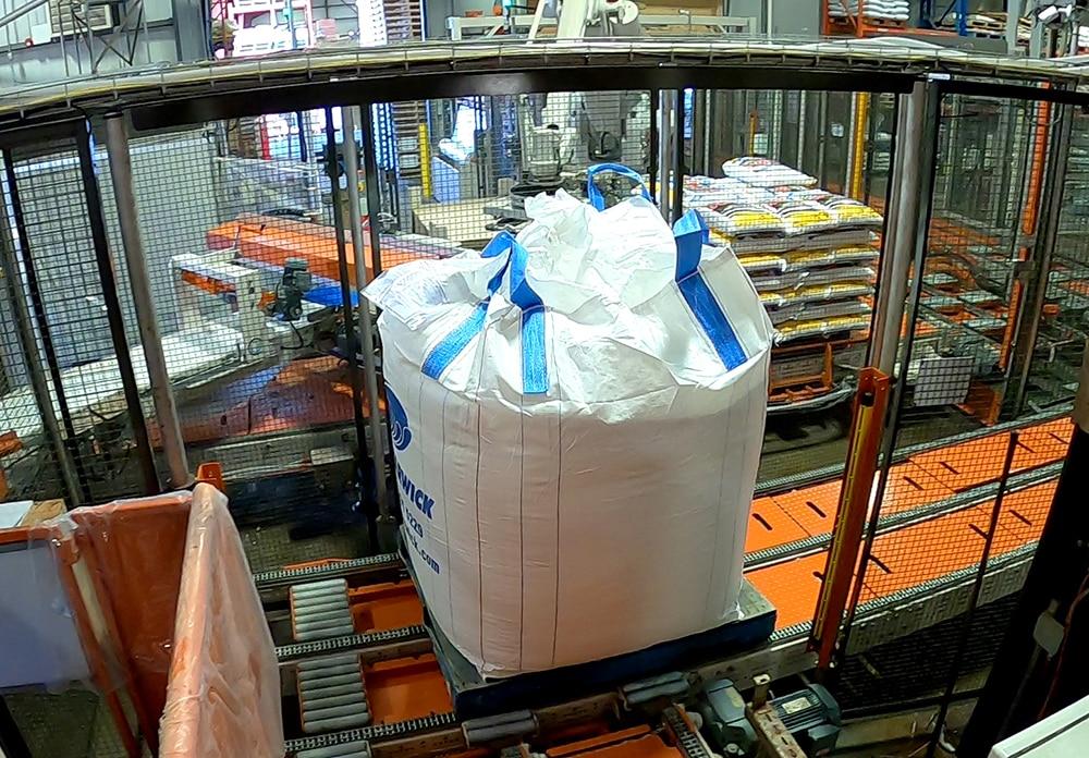 end of line bulk bag filling system