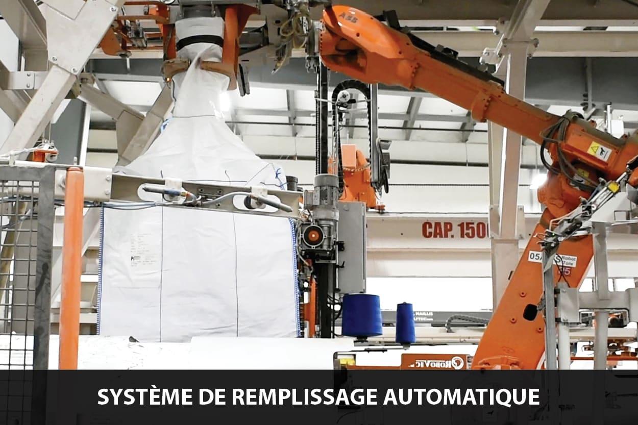systèmes de remplissage automatique